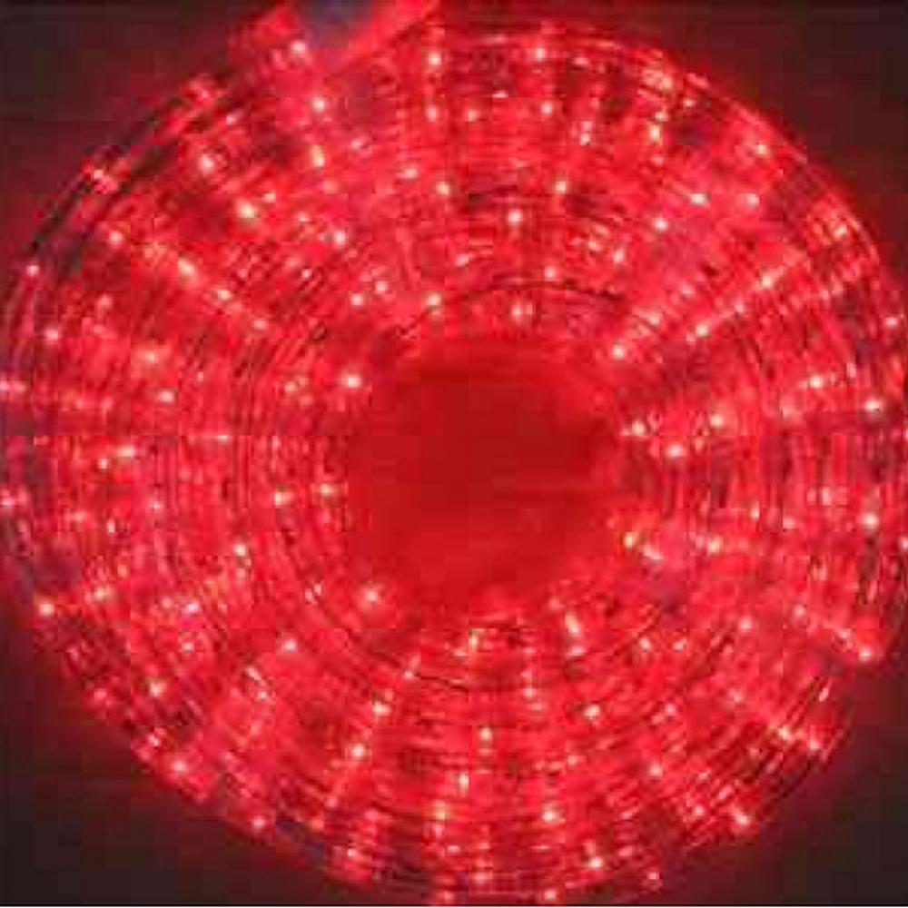 LED Lichtschlauch Lichterschlauch 20m rot BA11666