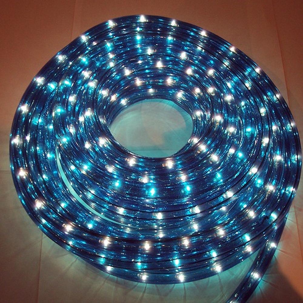Lichtschlauch Lichterschlauch 20m blau außen BA11673