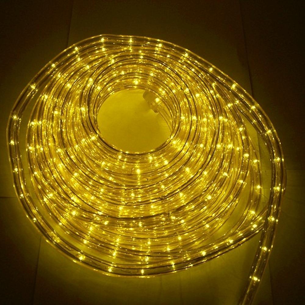 Lichtschlauch Lichterschlauch 20m gelb außen BA11673